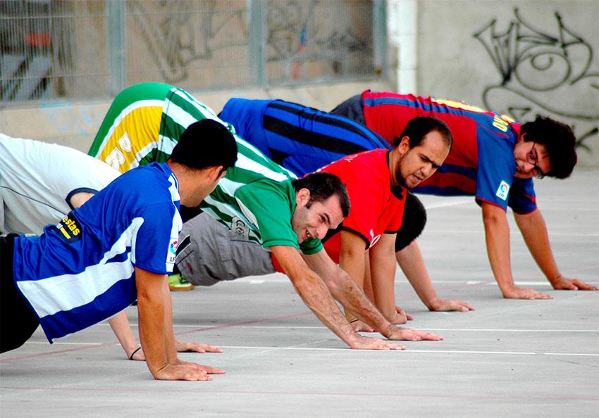 Actibitats esport discapacitats